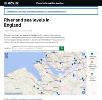 Government flood information service